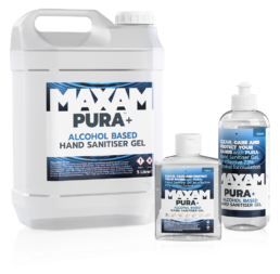 Hand Sanitiser from PURA Plus + COVID Secure workplaces and safe staff